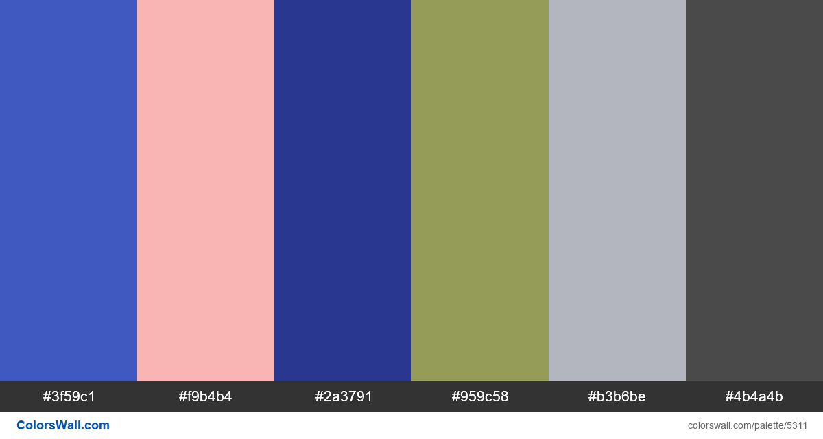 Agency medical website design landing colors palette - #5311