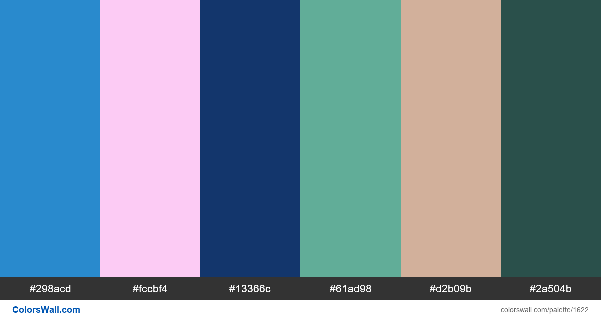 Anime colors palette - #1622