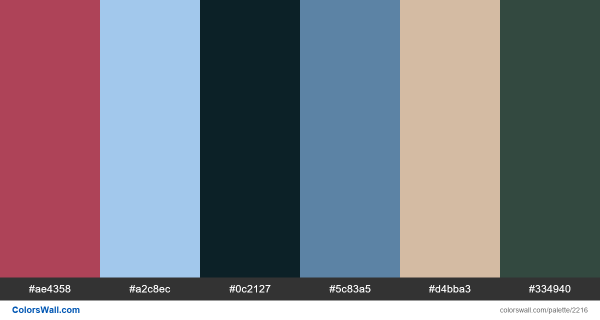 Anime colors scheme - #2216