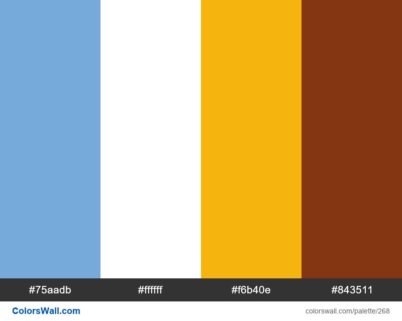 Argentina flag colors - #268