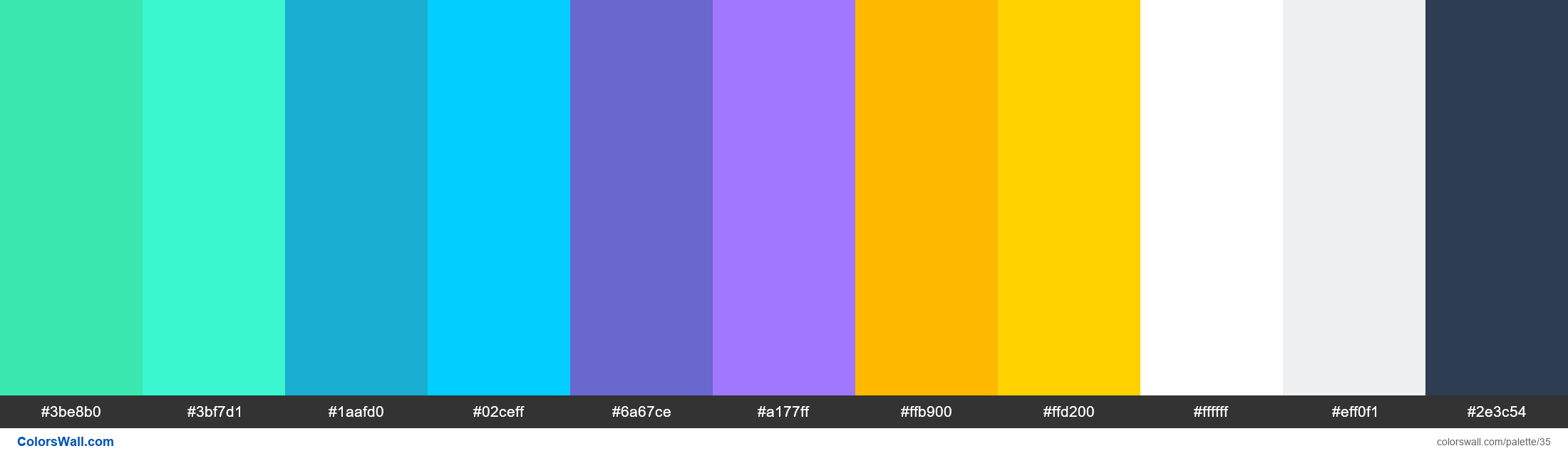 Asana colors palette - #35
