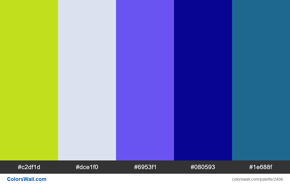@colorswall palette #1414 - #2406
