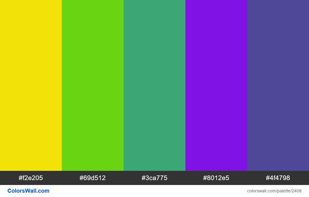 @colorswall palette #1416 - #2408