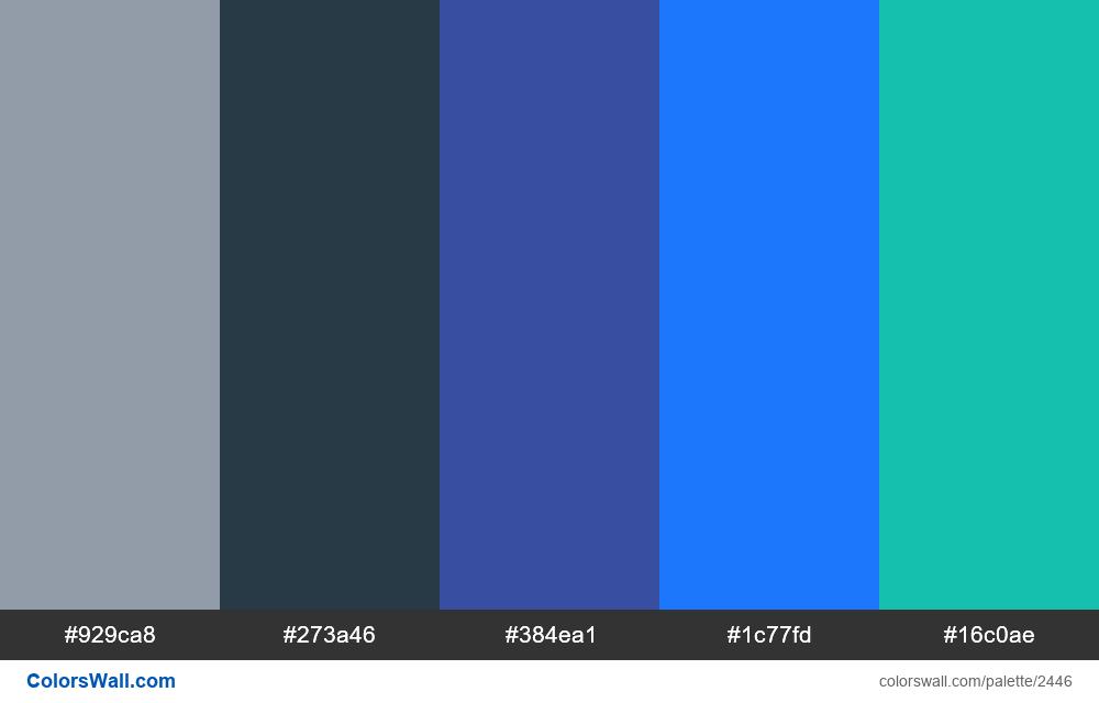 @colorswall palette #1455 - #2446