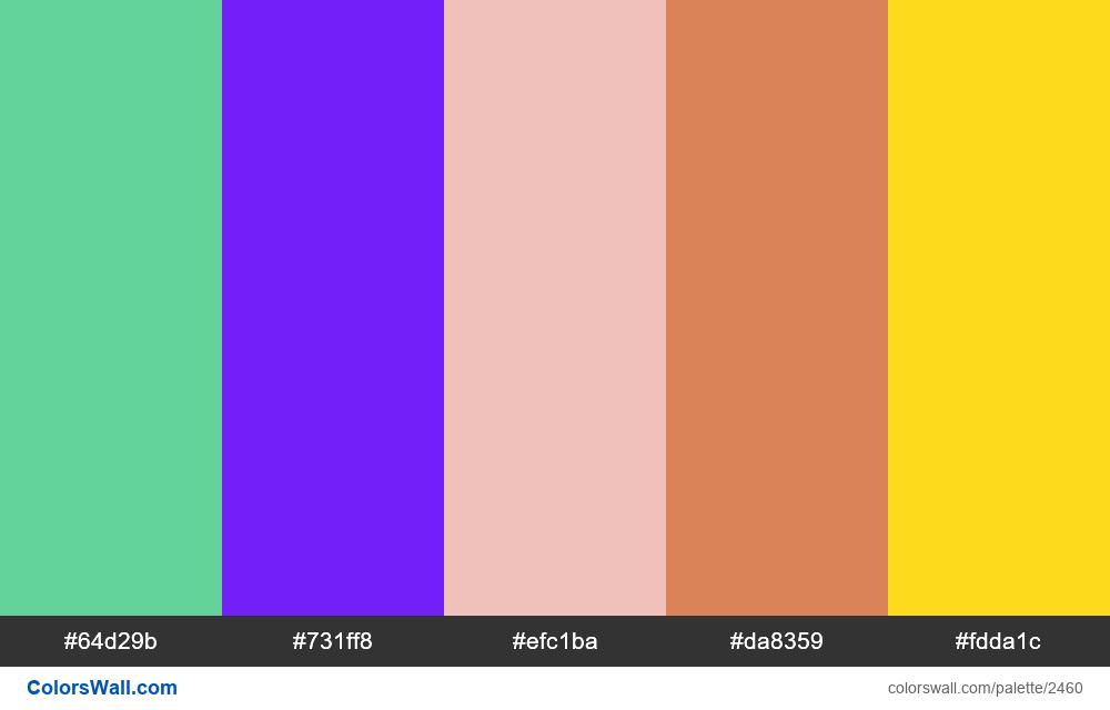@colorswall palette #1469 - #2460