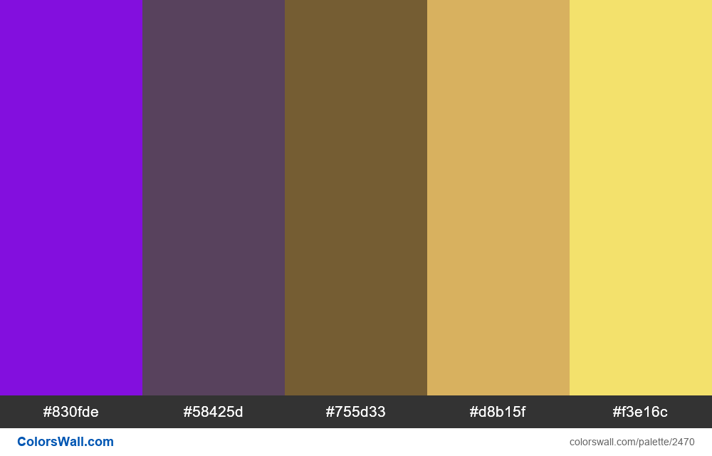 @colorswall palette #1479 - #2470