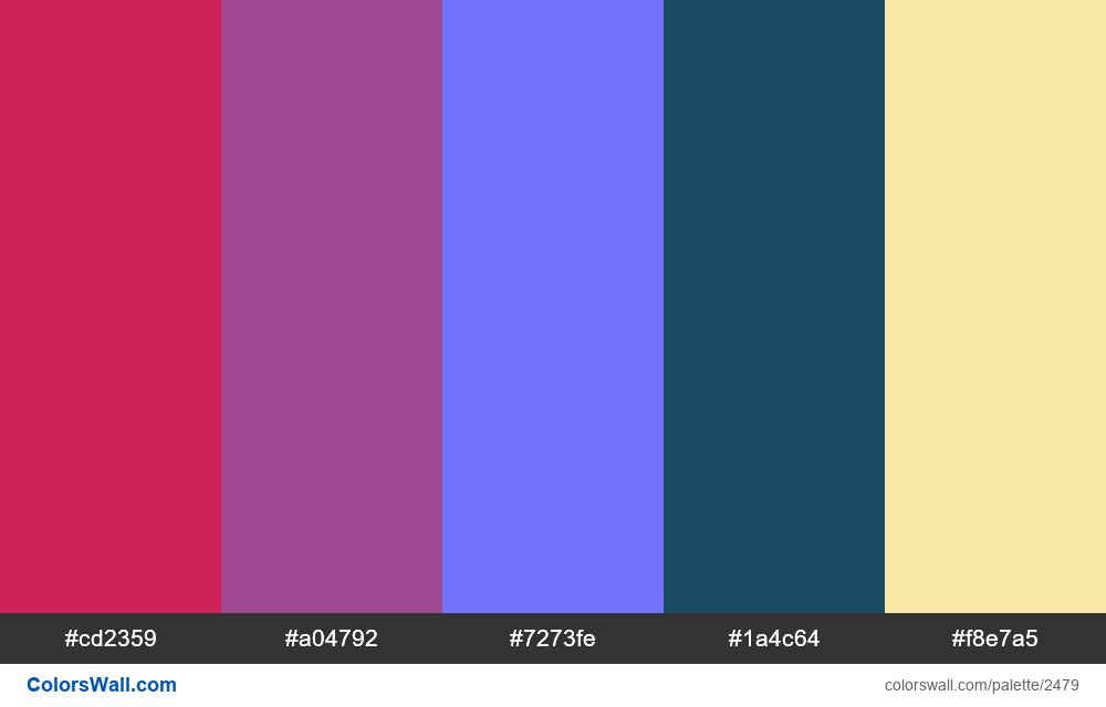 @colorswall palette #1488 - #2479