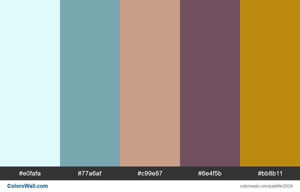 @colorswall palette #1512 - #2529