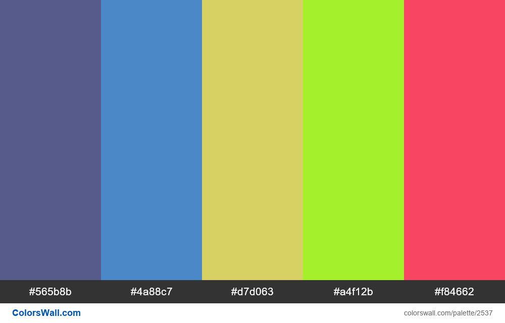 @colorswall palette #1518 - #2537