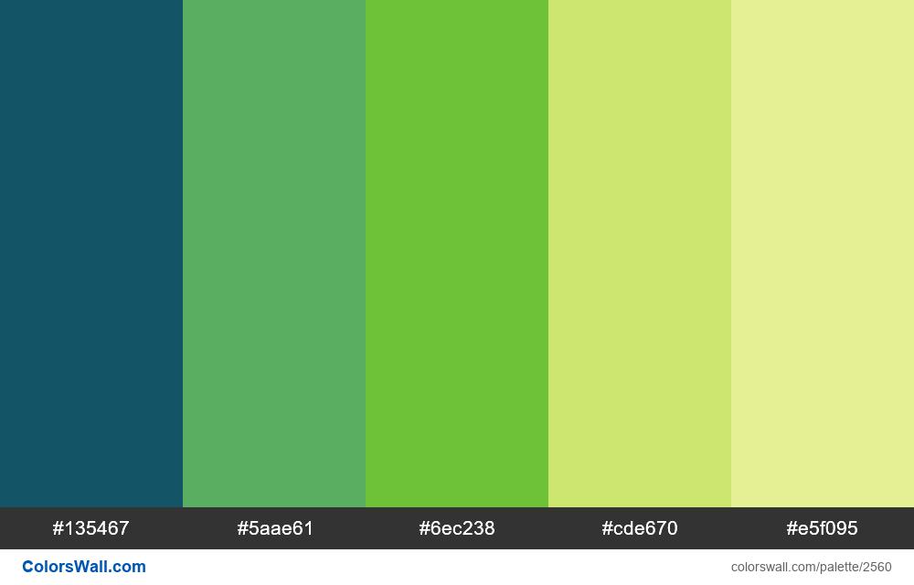 @colorswall palette #1536 - #2560