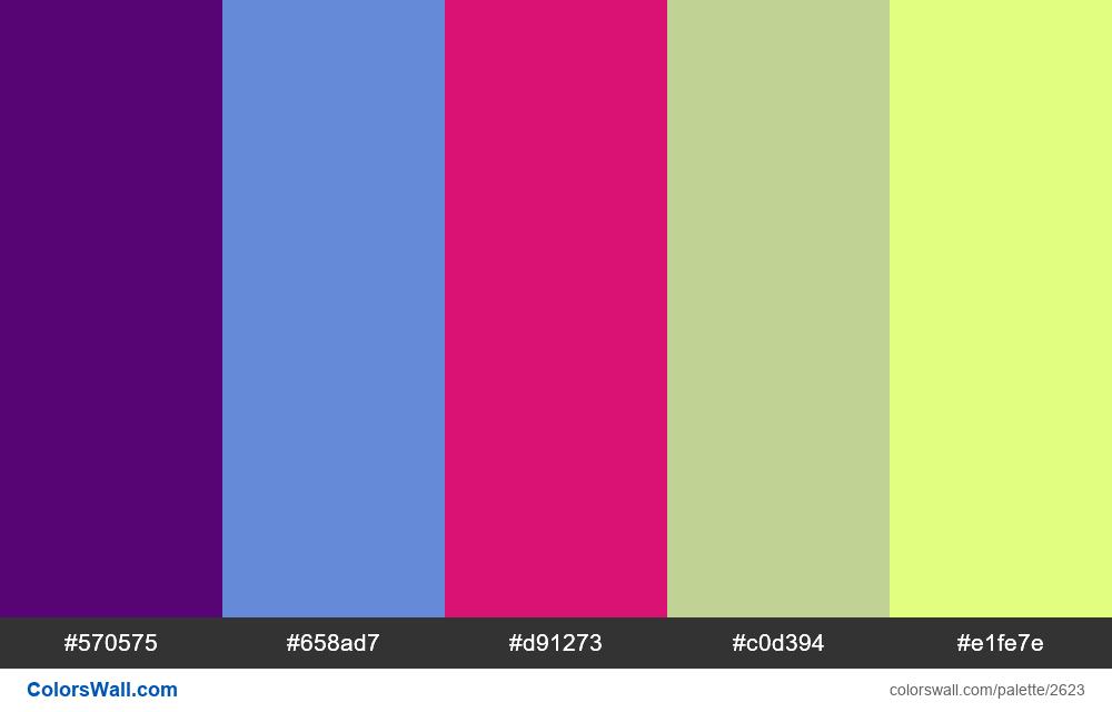 @colorswall palette #1593 - #2623
