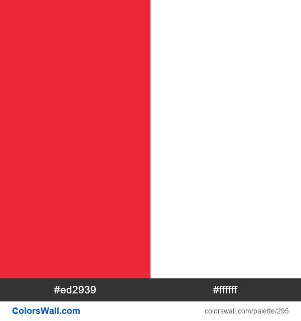 Austria flag colors - #295