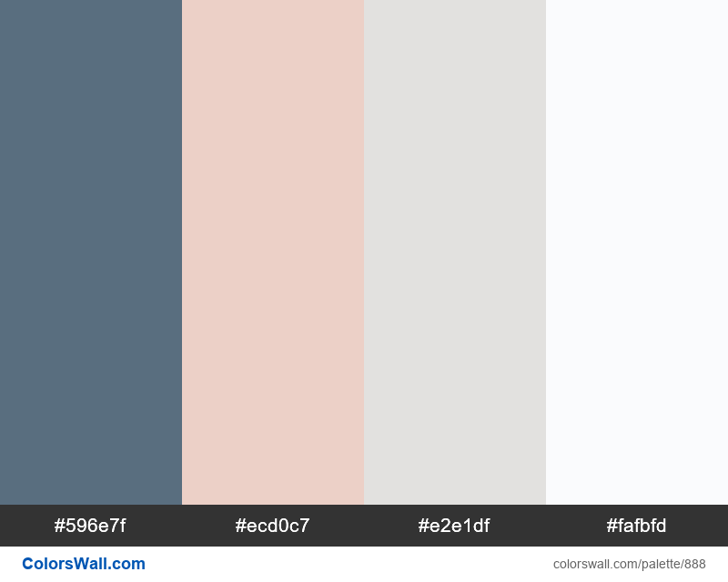 Bedroom marble color palette HEX, RGB codes