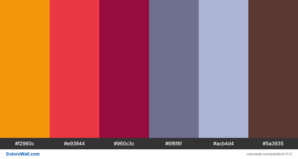 Brand abstract vector identity palette - #41512