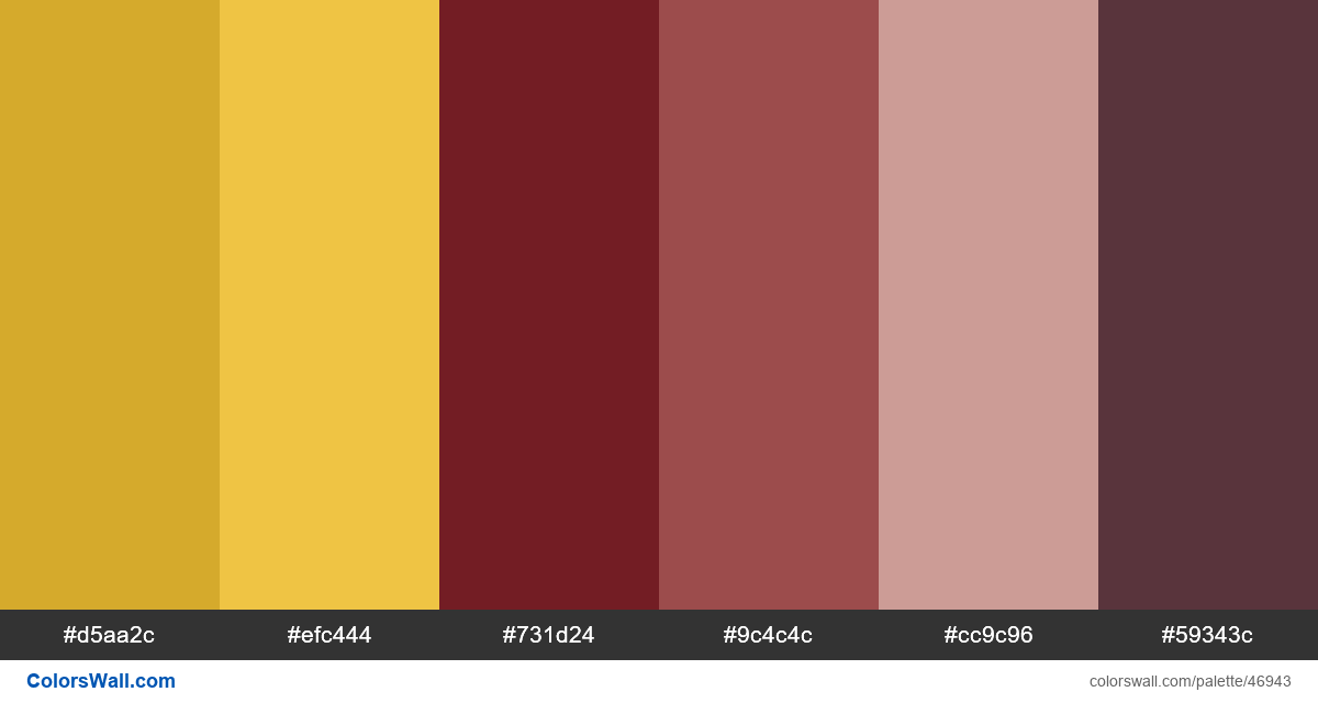 Campaign website design colors palette - #46943