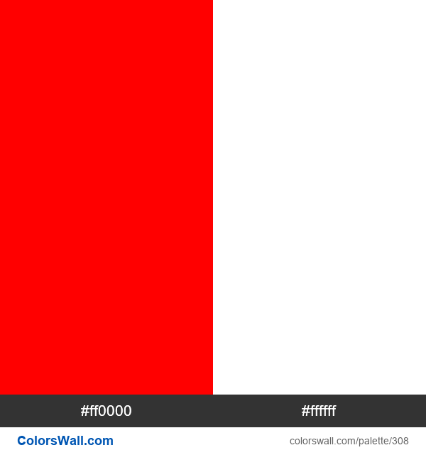 Canada flag colors - #308