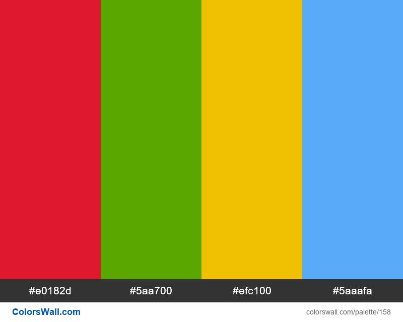 Carbon default theme Support Colors - #158