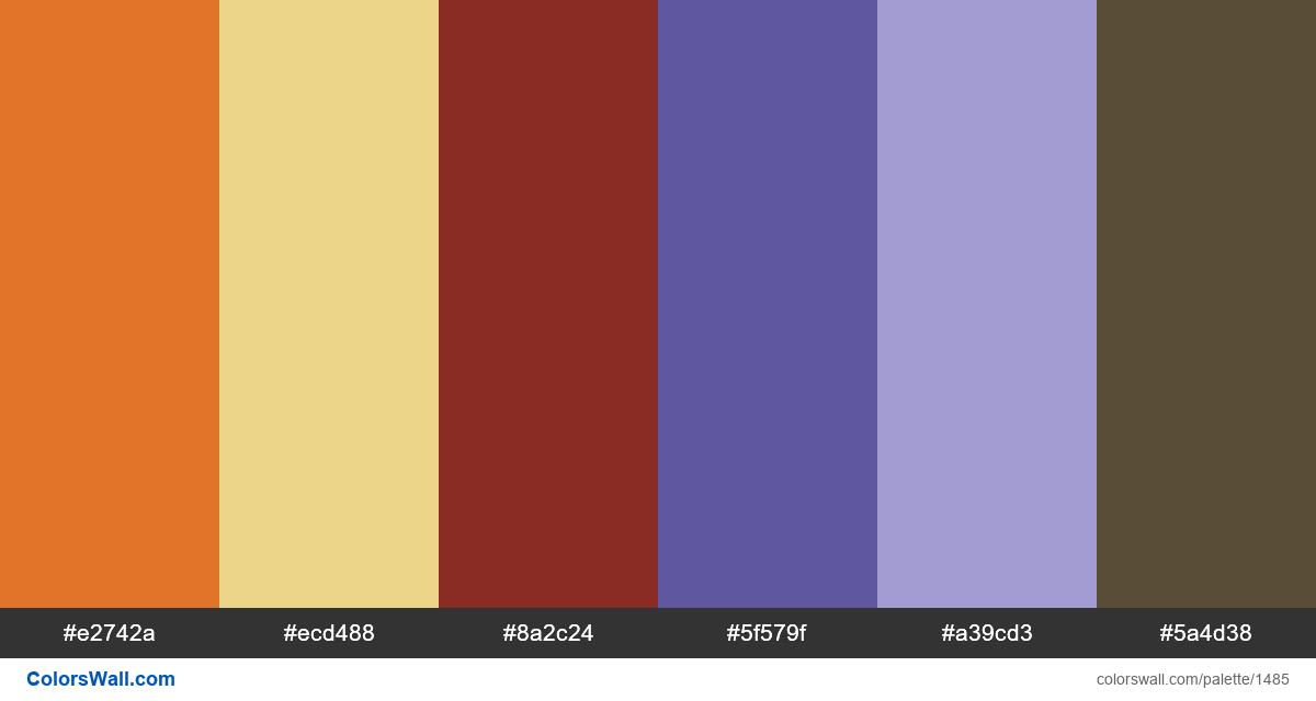 Cartoon colors palette - #1485