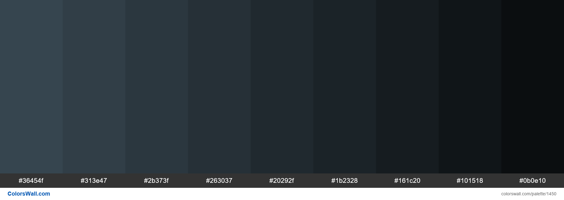 Charcoal color shades - #1450