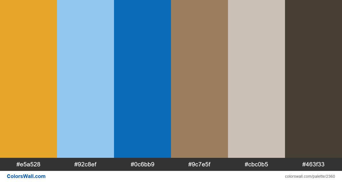 City colors palette - #2360