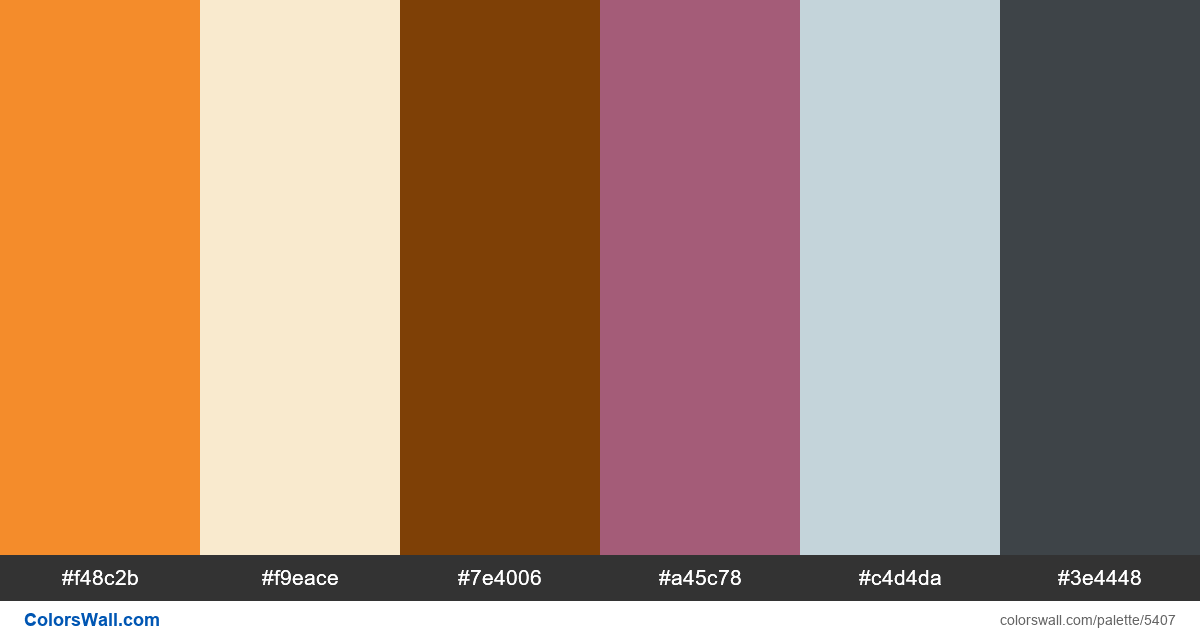 Clean hero image graphicdesign colors palette - #5407