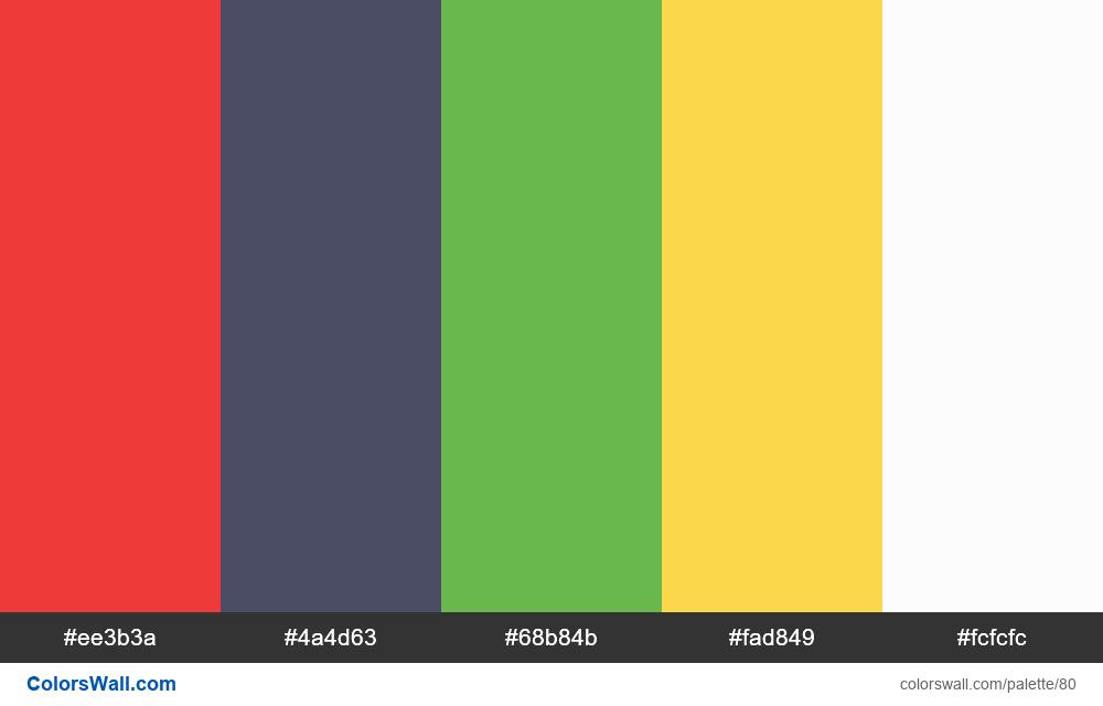 Colors #1 - #80
