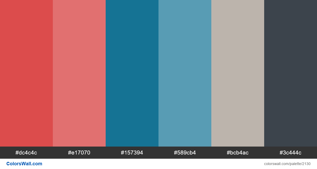 Colors for PowerPoint presentations HEX, RGB codes