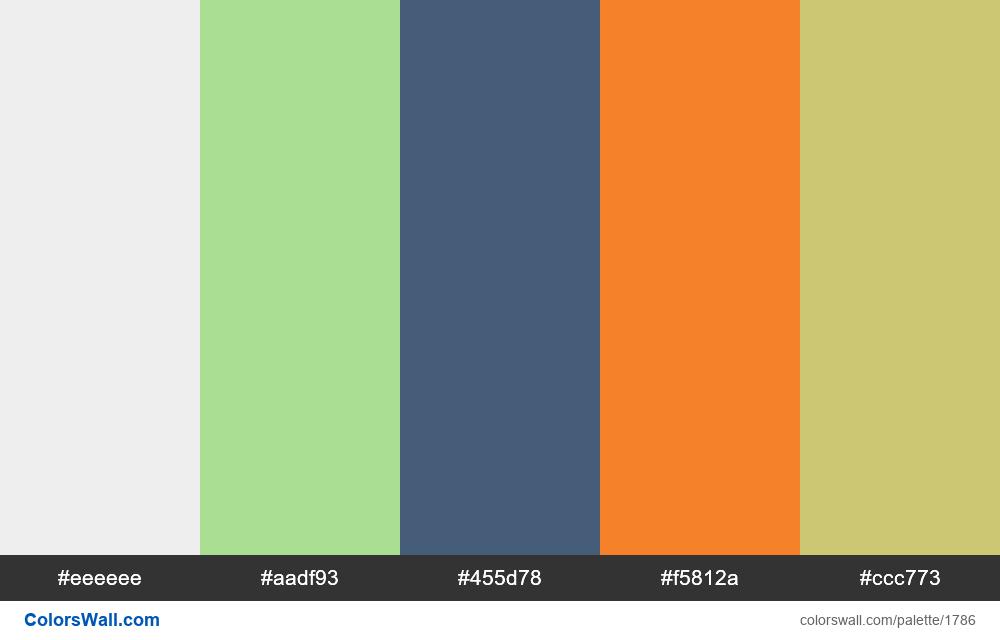 #colorswall palette #1006 - #1786