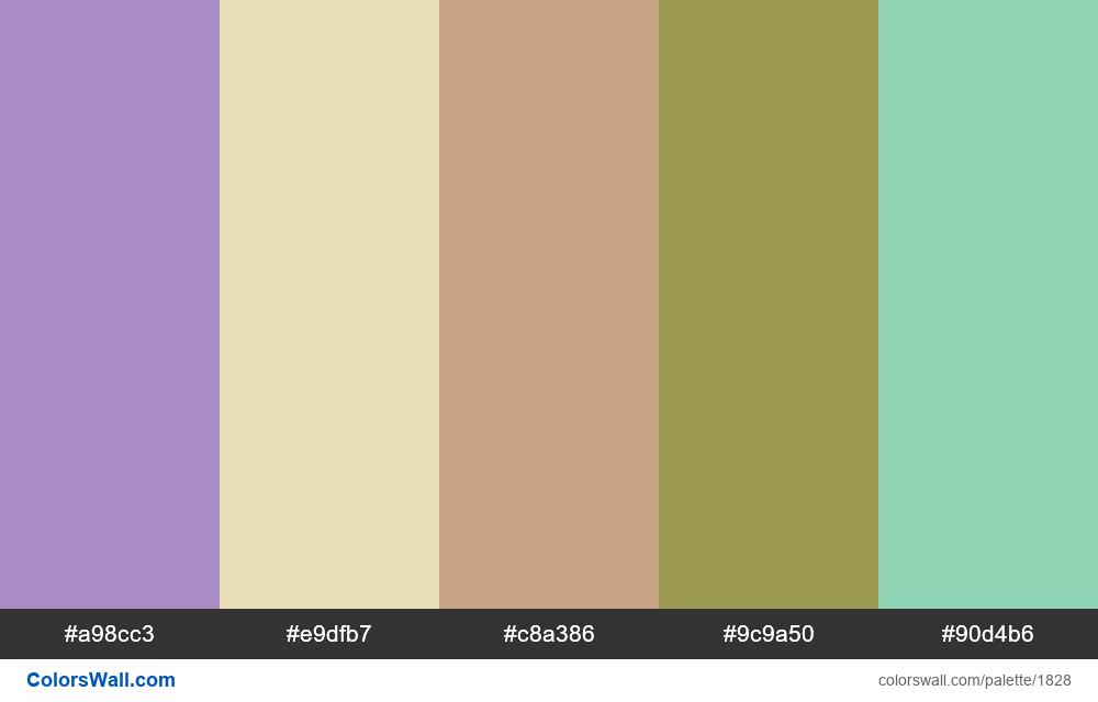 #colorswall palette #1040 - #1828