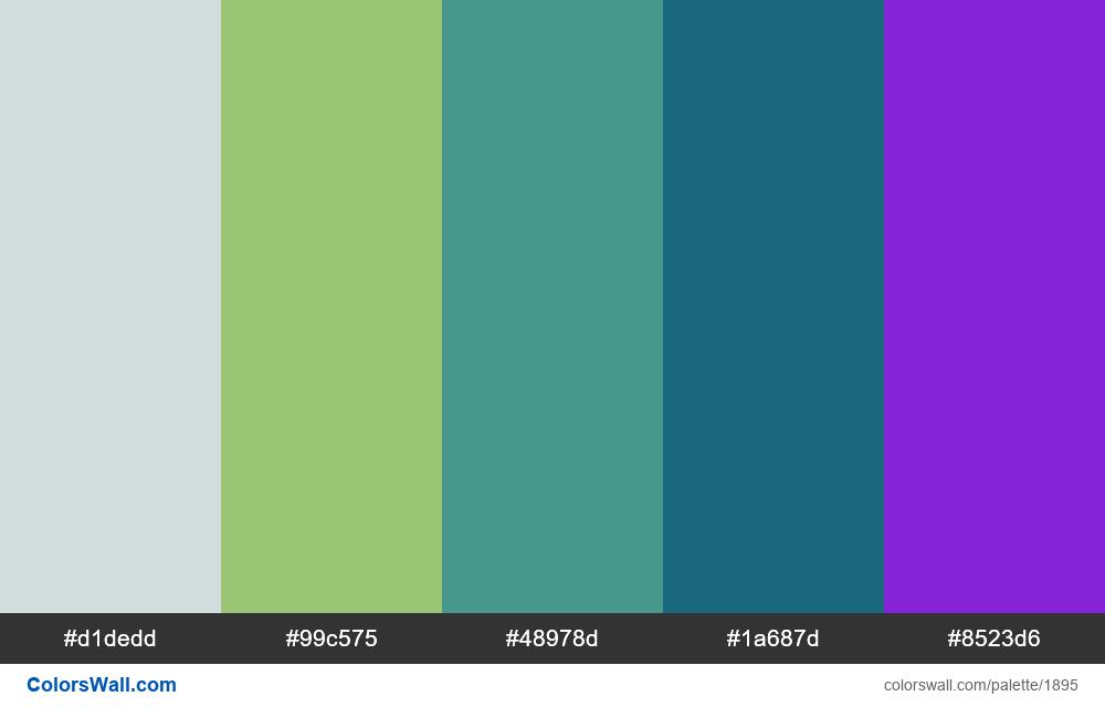 #colorswall palette #1090 - #1895