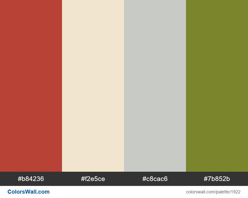 #colorswall palette #1117 - #1922