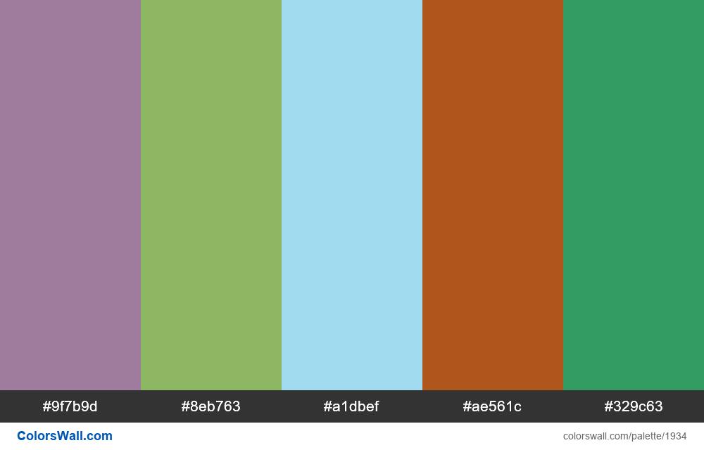 #colorswall palette #1128 - #1934