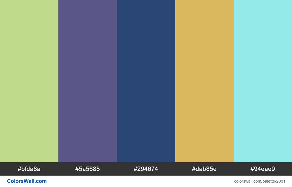 #colorswall palette #1219 - #2031