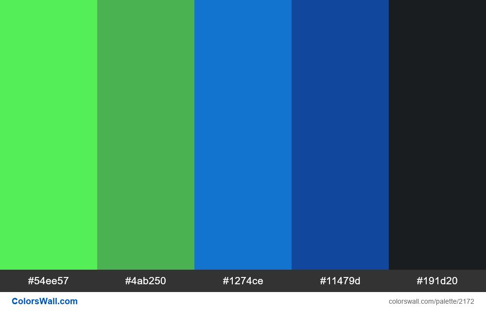 #colorswall palette #1299 - #2172