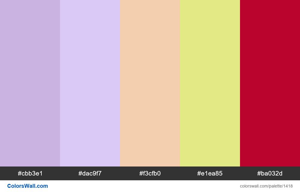 #colorswall palette #759 - #1418