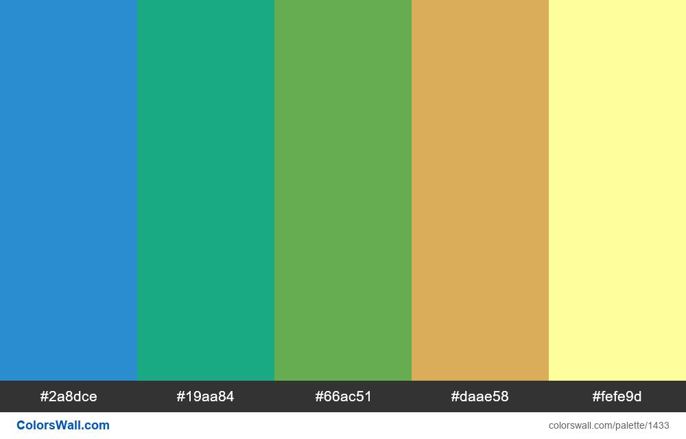 #colorswall palette #768 - #1433