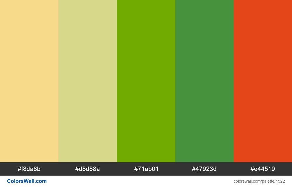 #colorswall palette #788 - #1522