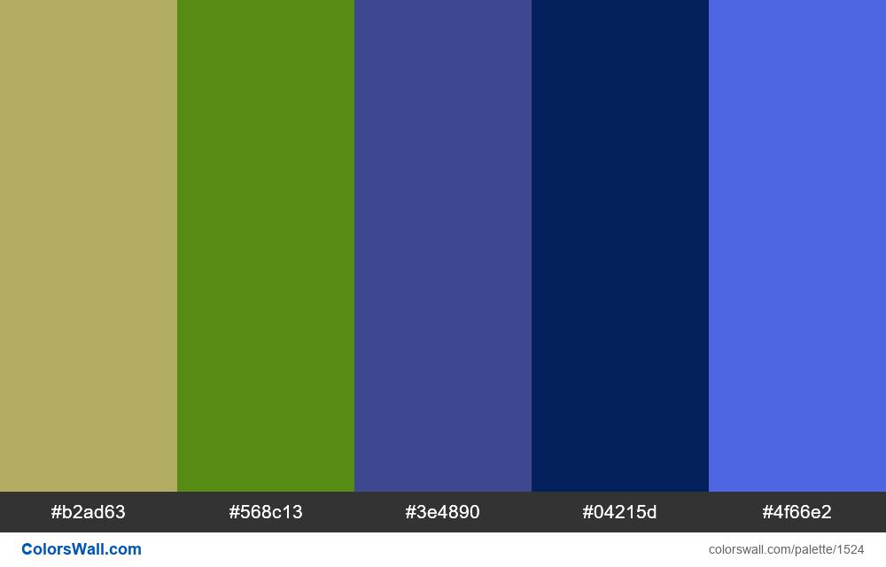 #colorswall palette #790 - #1524