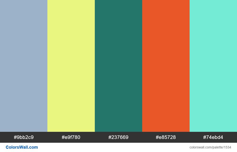 #colorswall palette #796 - #1534
