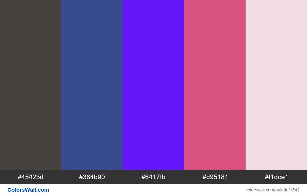 #colorswall palette #802 - #1542