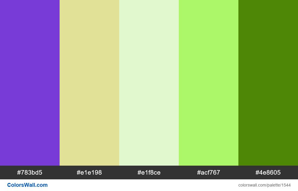 #colorswall palette #804 - #1544