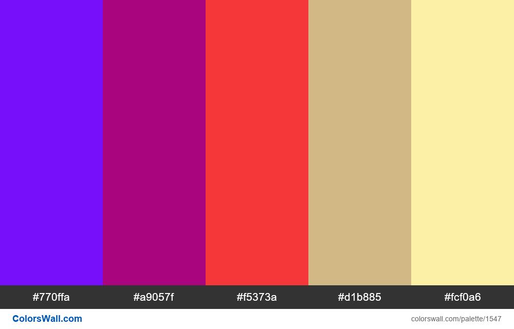 #colorswall palette #807 - #1547