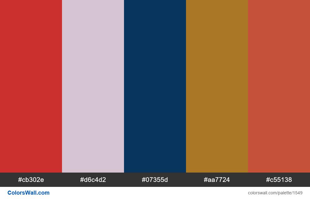 #colorswall palette #808 - #1549