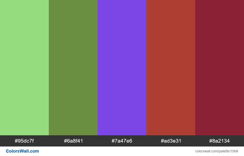 #colorswall palette #819 - #1568