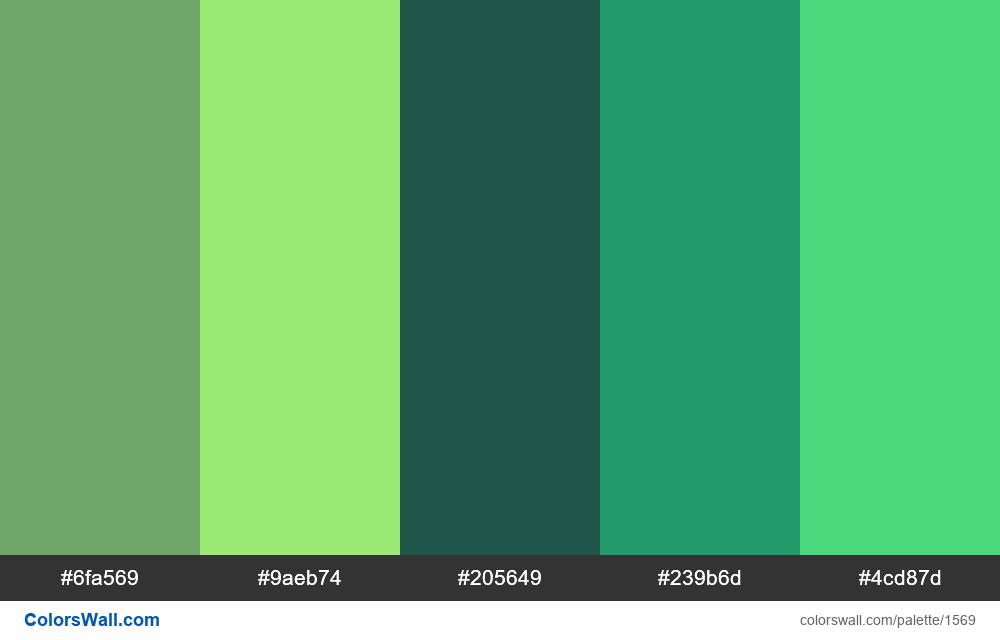 #colorswall palette #820 - #1569