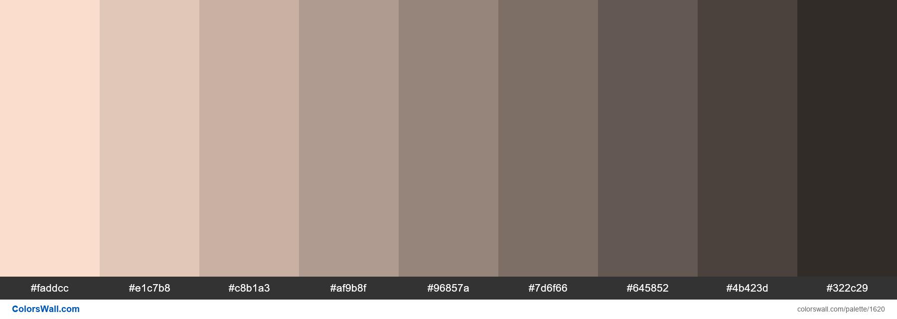 #colorswall palette #870 - #1620