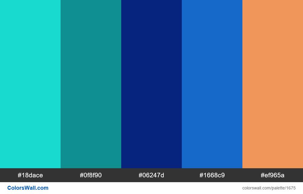#colorswall palette #916 - #1675