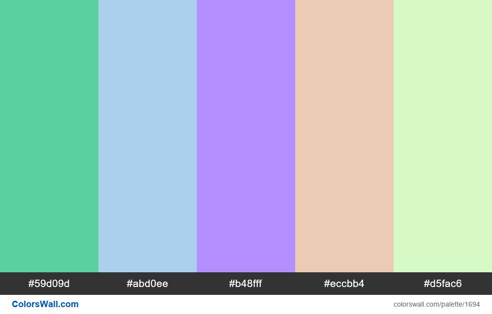#colorswall palette #930 - #1694