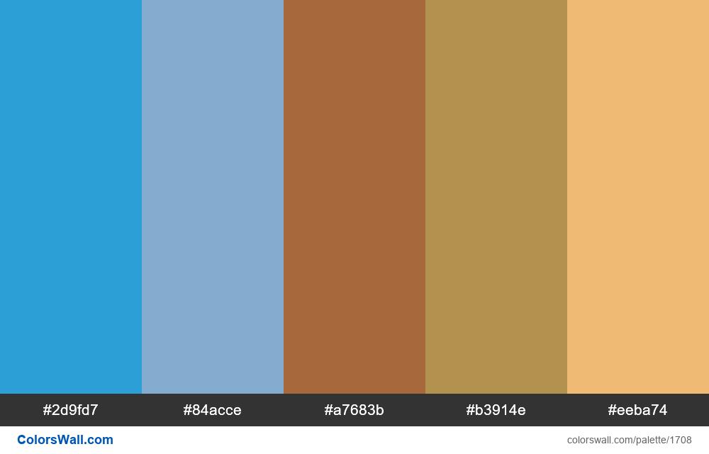 #colorswall palette #942 - #1708