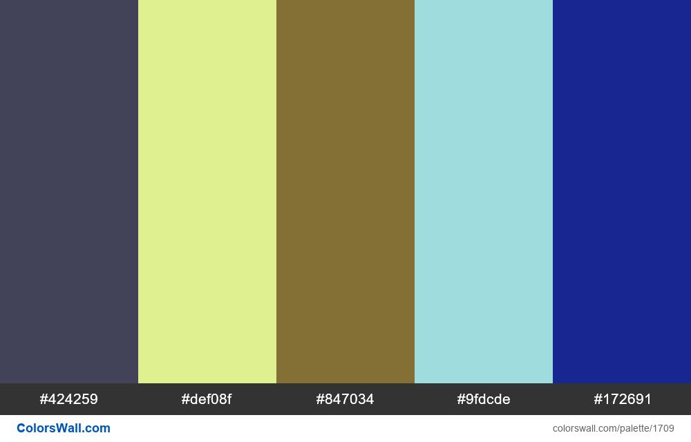 #colorswall palette #943 - #1709